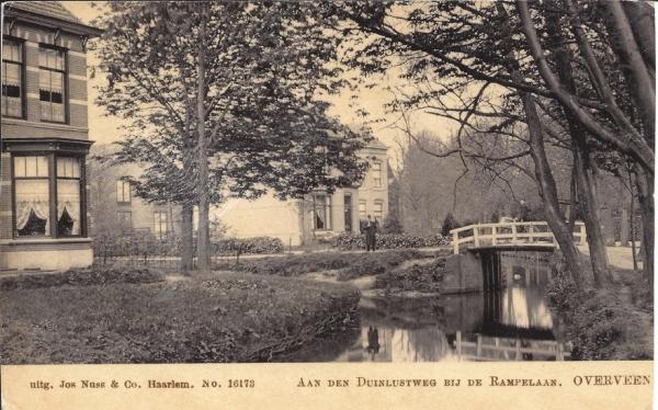 Duinlustweg, hoek Ramplaan, 1903