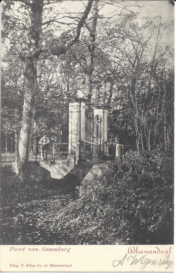 Mollaan, Huize Saxenburg, 1902