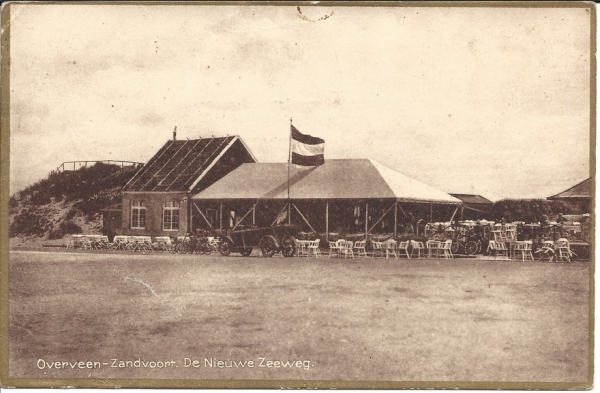Zeeweg, 1925