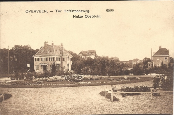 Ter Hoffsteedeweg, Huize Oostduin, 1912
