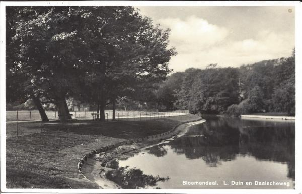 Lage Duin en Daalscheweg, Halve Maantje, 1920
