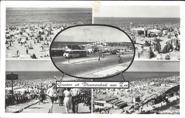 Zeeweg, B'daal aan Zee, 1955 (1)