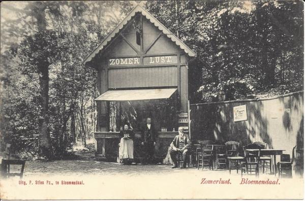 Rijperweg, Bloemendaalsche Bos, Zomerlust, 1901