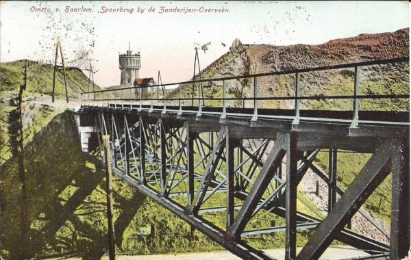 Duinlust, spoorbrug, 1907