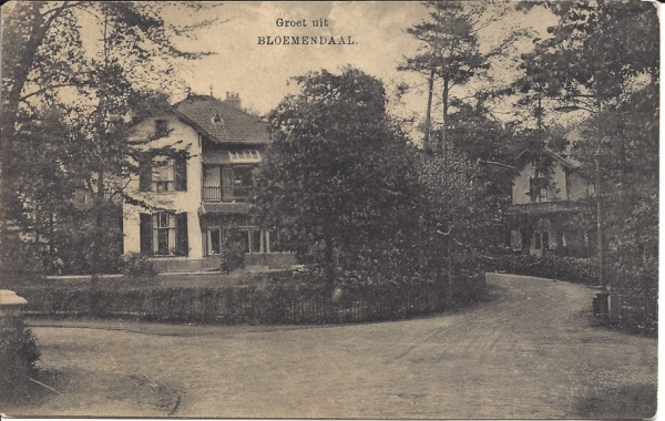 Parkweg, hoek Saxenburgerweg