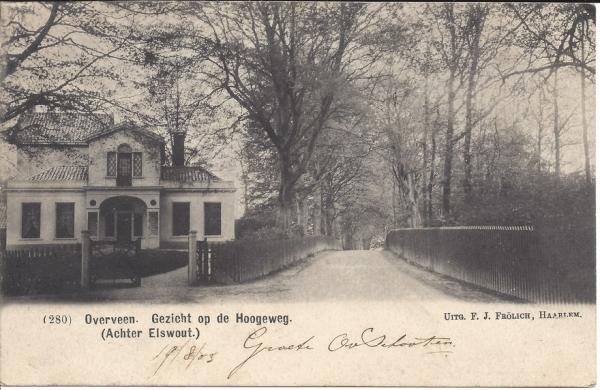 Elswoutslaan, 1903