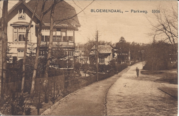 Parkweg, Villa Duinhoeve, 1913