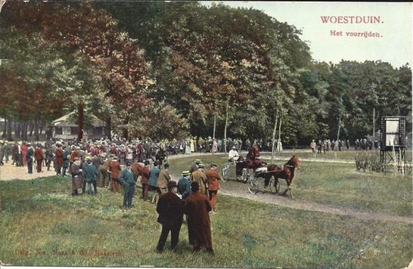 Woestduin, Renbaan Woestduin, 1913 (3)