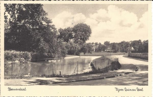 Lage Duin en Daalscheweg, Hotel Duin en Daal, 1935