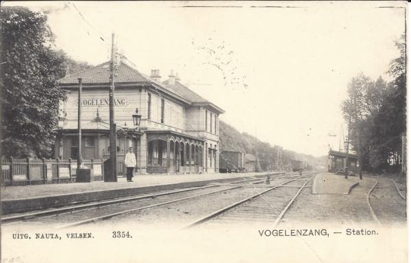 Leidschevaart, Station Vogelenzang 1905