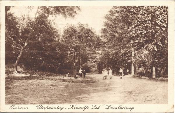 Duinlustweg, Kraantje Lek, 1926
