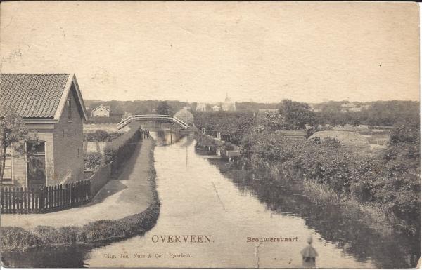 Brouwersvaart, 1907