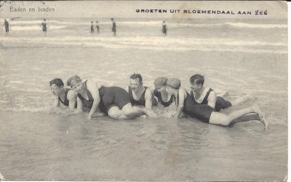 Zeeweg, B'daal aan Zee, 1936 (1)