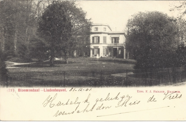 Bloemendaalscheweg, Overbeek, Lindenheuvel, 1902 (2)