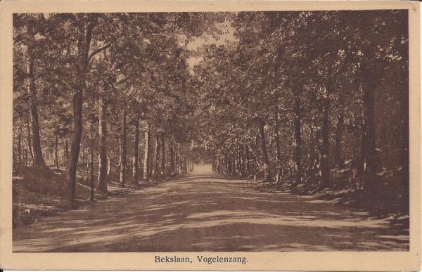 Bekslaan, 1935