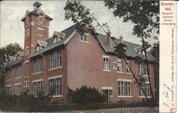 Lage Duin en Daalscheweg, BSV, 1909