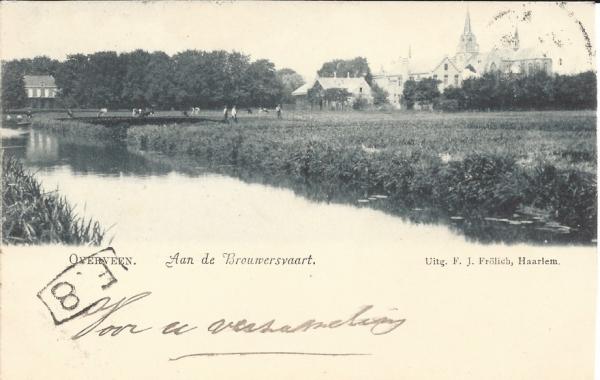Brouwersvaart, 1900