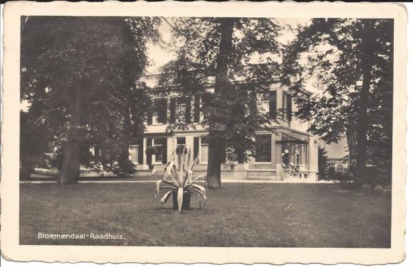 Bloemendaalscheweg, Villa Nagtegaal, 1936