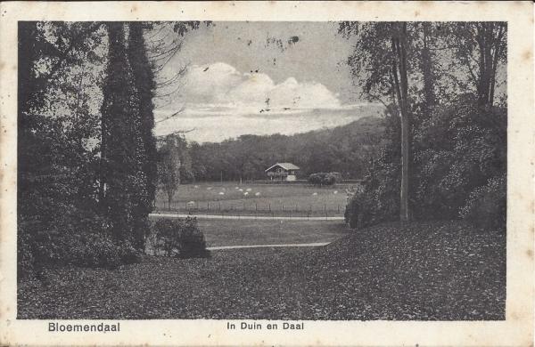 Lage Duin en Daalscheweg, 't Chalet, 1949