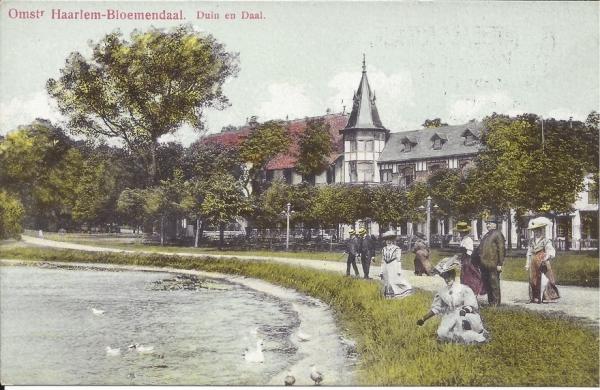 Koninginneduinweg, Hotel Duin en Daal, 1913