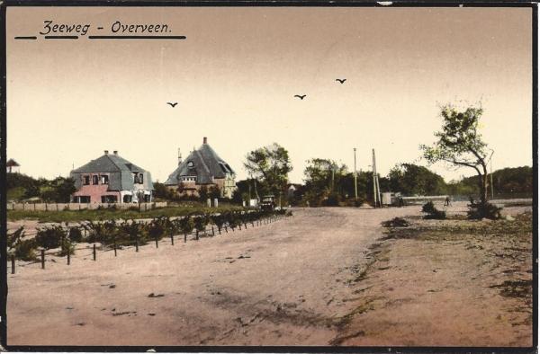 Militairenweg, hoek Tetterodeweg, hoek Lonbar Petrilaan, 1930