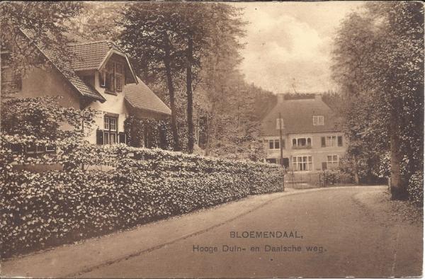 Midden Duin en Daalscheweg, Villa Duinrand, 1918