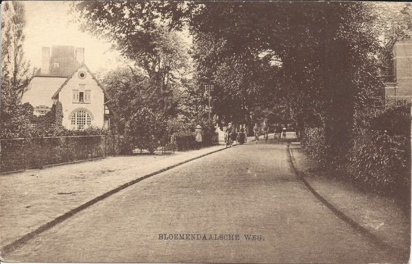Bloemendaalscheweg, Willemshoeve, 1916
