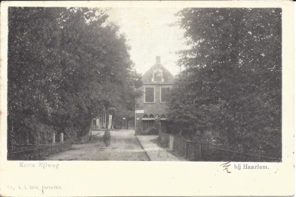 Korte Zijlweg, 1900