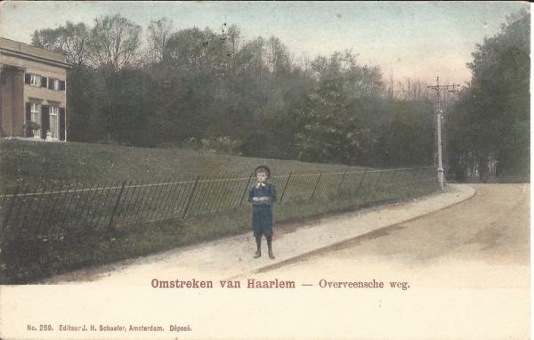Bloemendaalscheweg, Bloemenheuvel, 1905