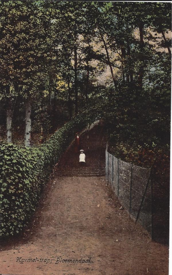 Midden Duin en daalscheweg, Karmeltrap (2)
