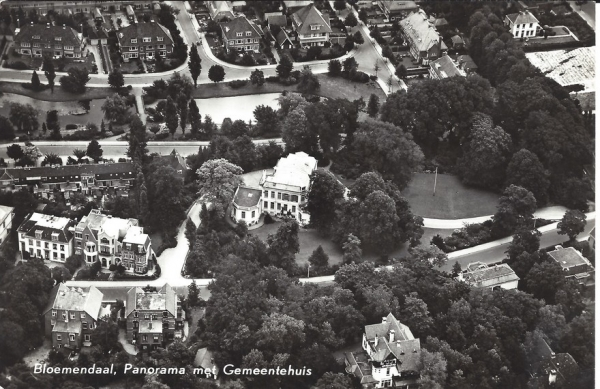 Bloemendaalscheweg, Villa Nagtegaal, 1959