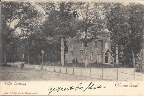 Parkweg, Villa Cornelia, 1903