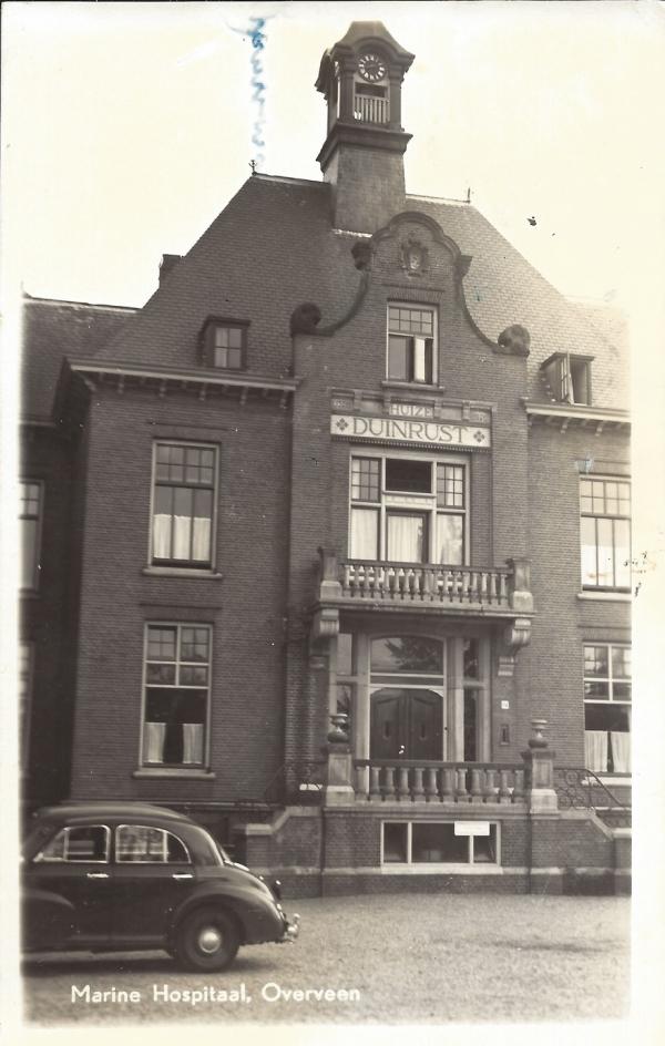 Bloemendaalscheweg, Marine Hospitaal, 1958