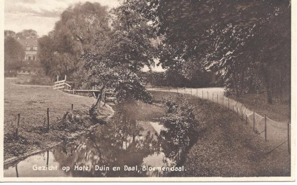 Lage Duin en Daalscheweg, Hotel Duin en Daal, 1930
