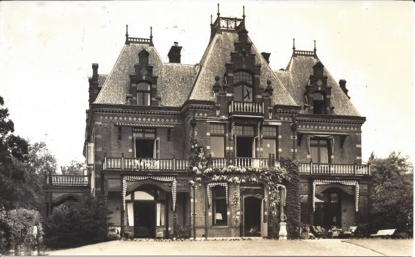 Ter Hoffsteedeweg, Villa Lindenheuvel, 1957