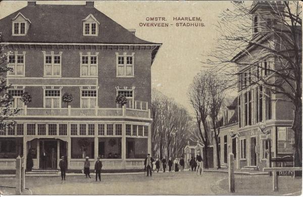 Bloemendaalscheweg, hoek Zijlweg, 1909