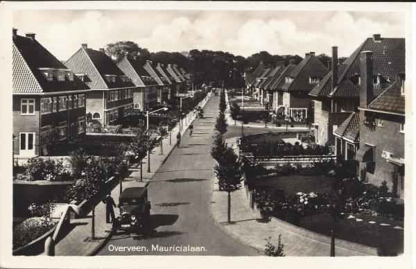 Mauricialaan, hoek Vrijburglaan