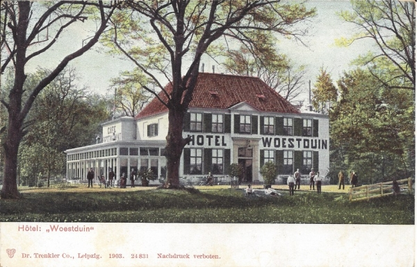 Woestduin, Hotel Woestduin, 1903