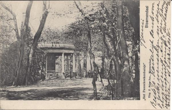 Mollaan, Pannekoekenhuisje, 1908