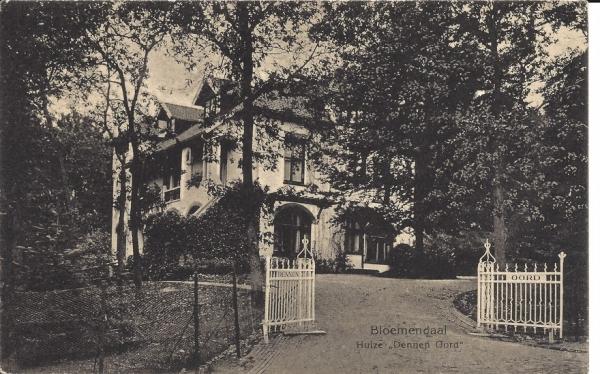 Koninginneduinweg, Villa Dennenoord