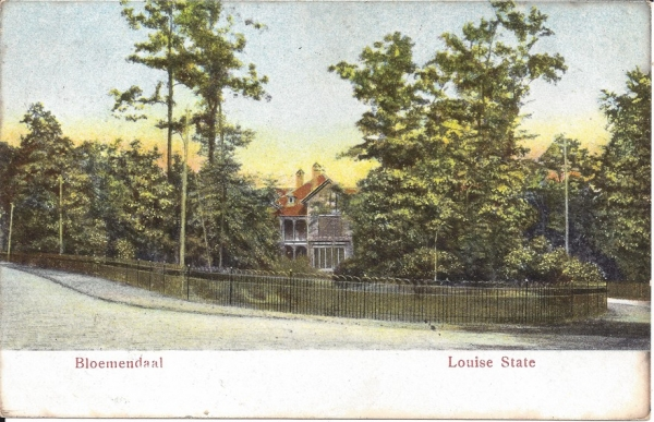 Midden Duin en Daalscheweg, Louise State, 1908