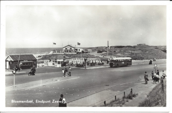 Zeeweg, B'daal aan Zee, 1956 (1)