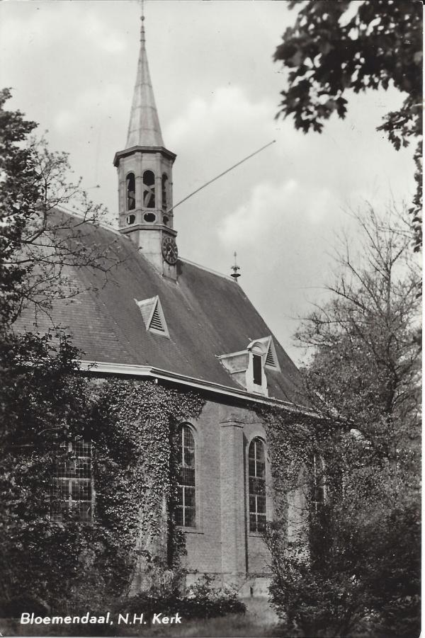 Kerkplein, Hervormde Kerk, 1973