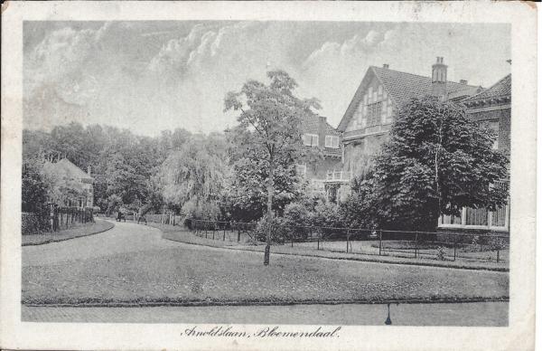 Lage Duin en Daalscheweg, Hoek Arnoldlaan, 1923