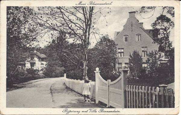 Rijperweg,  Villa Binnenduin, 1917