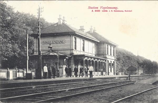 Leidschevaart, Station Vogelenzang 1909