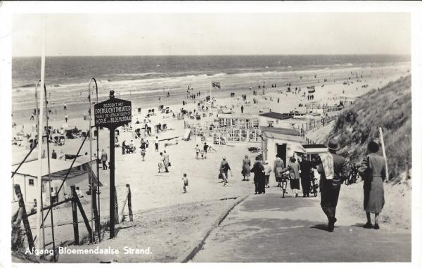 Zeeweg, B'daal aan Zee, 1955