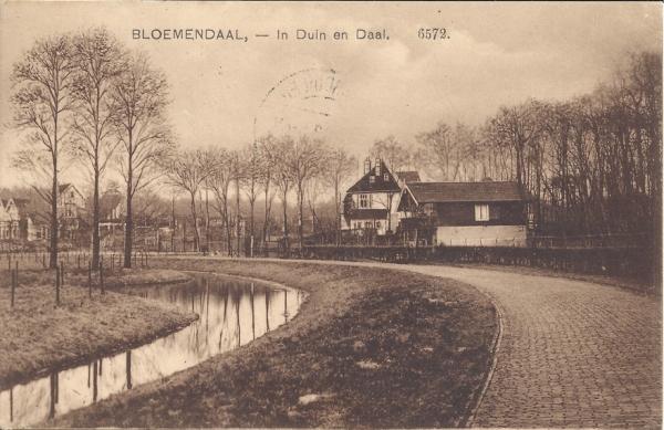 Lage Duin en Daalscheweg, Chalet Duin en Daal