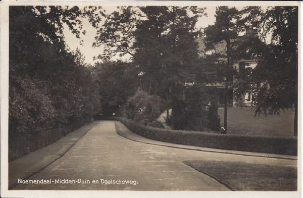 Midden Duin en Daalscheweg, 1940