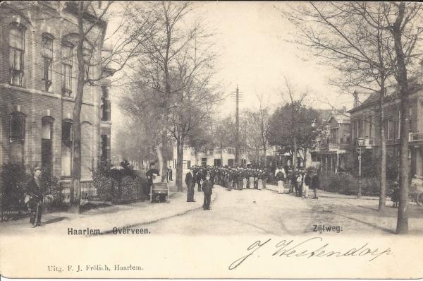 Zijlweg (1), 1900
